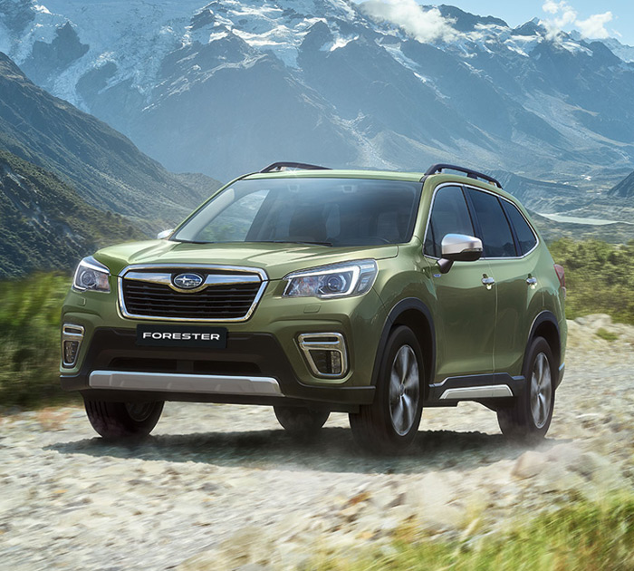 FORESTER promo